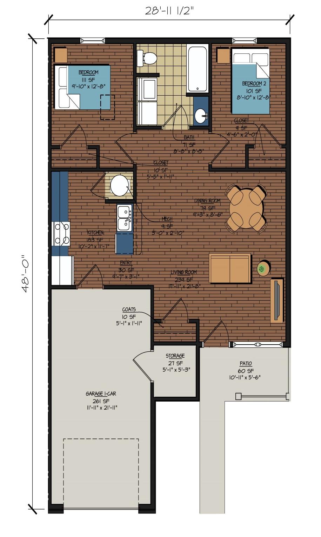 Neska City Senior Patio Homes — Excel Development Group on national homes floor plans, national homes 1953, national homes prefab homes, national homes 1950s,