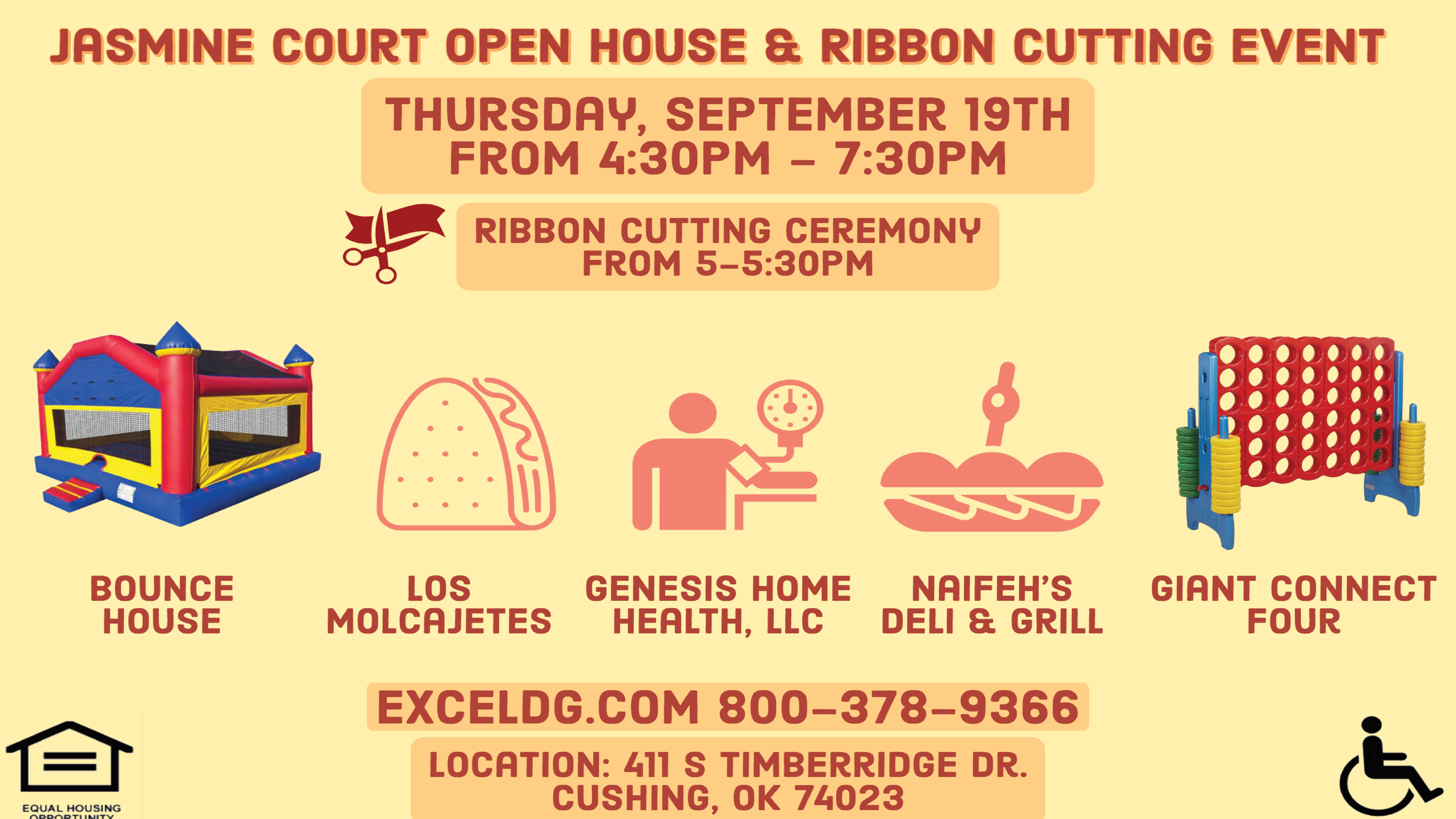 Open House and Ribbon Cutting Event at Jasmine Court
