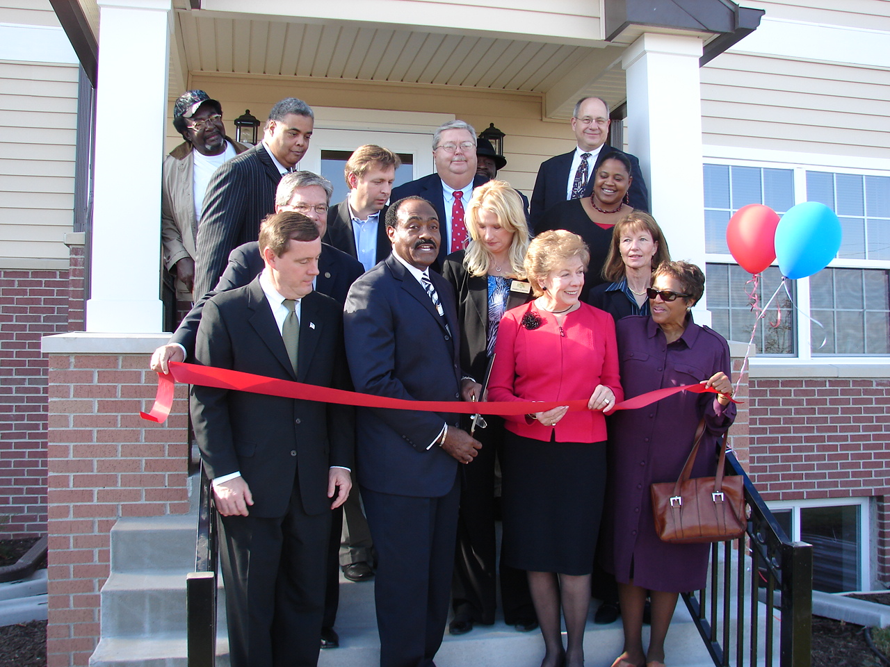 greenview estates ribbon cutting